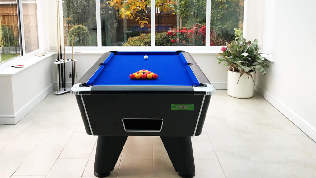 Coin-Actuated Pool Tables
