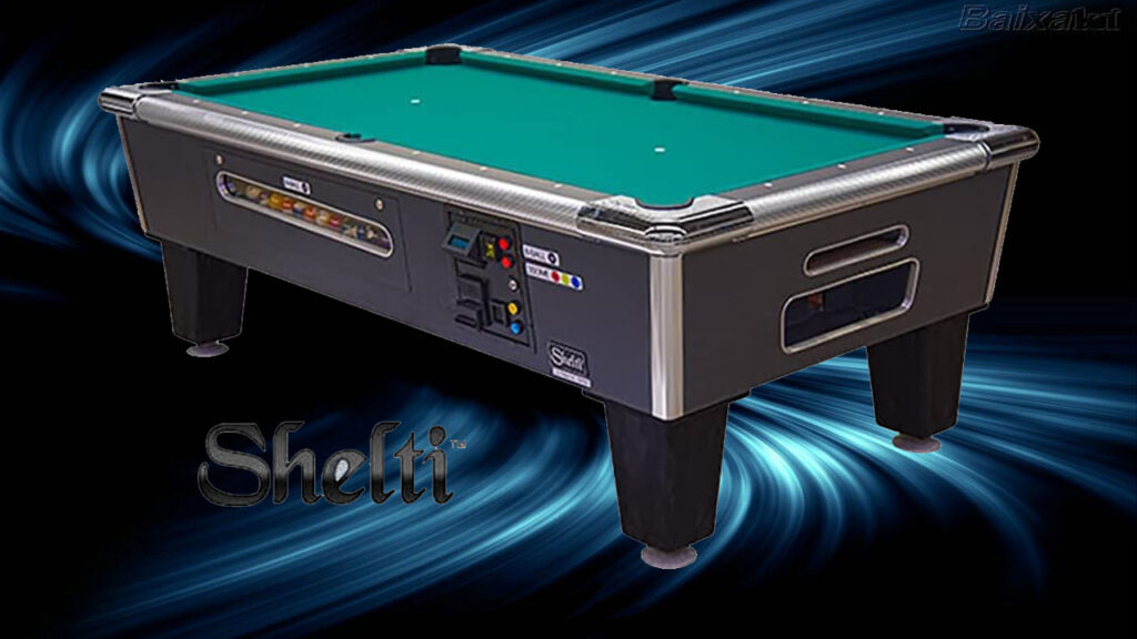 Coin-Fed Billiard Tables