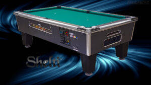 Coin-Fed Billiard Tables